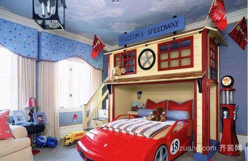 小男孩儿童房装修效果图