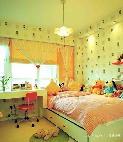 100㎡超可爱儿童房设计装修效果图