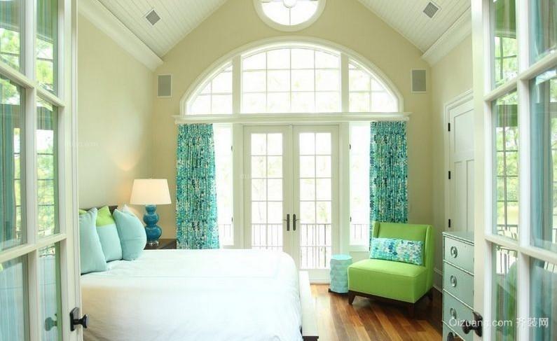 全新地中海风格卧室装修效果图