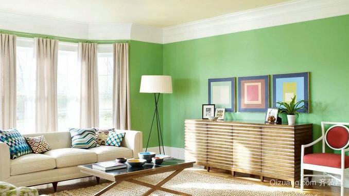 简约风格客厅懒人沙发装修效果图