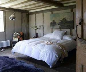 中式田园风卧室装修效果图