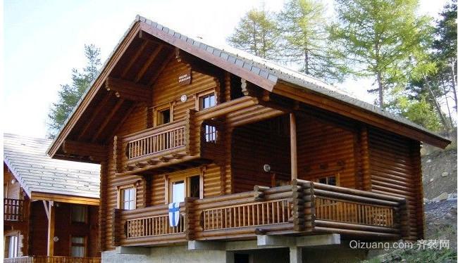 实木木屋别墅设计