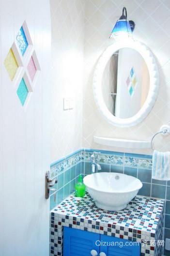 卫生间地中海风格装修图片效果图