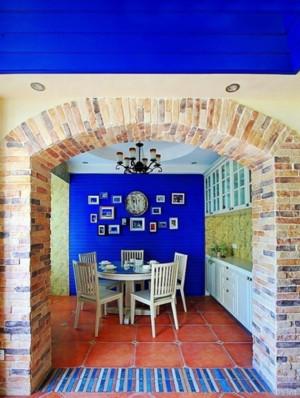 地中海风格小复式楼装修效果图