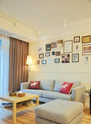 50平米小户型公寓室内装修设计效果图