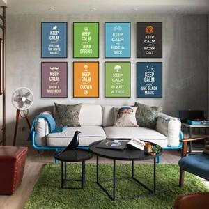单身公寓现代抽象简约装饰画效果图