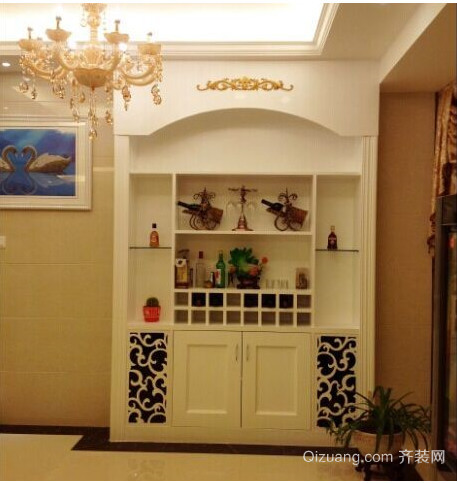欧式室内酒柜设计