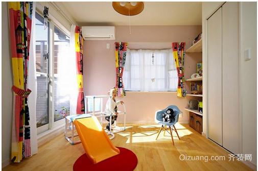 50平米日式儿童房装修效果图