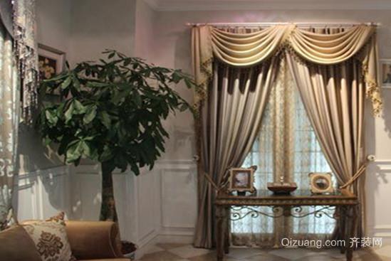 全新欧式风格窗帘装修效果图