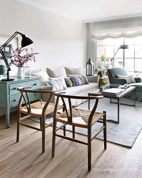 一居室小户型欧式客厅装修图