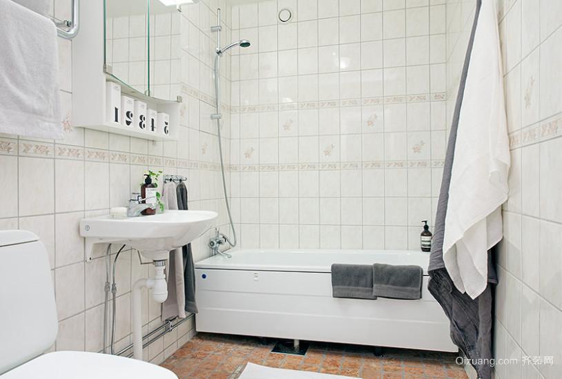 复式楼卫浴装修效果图