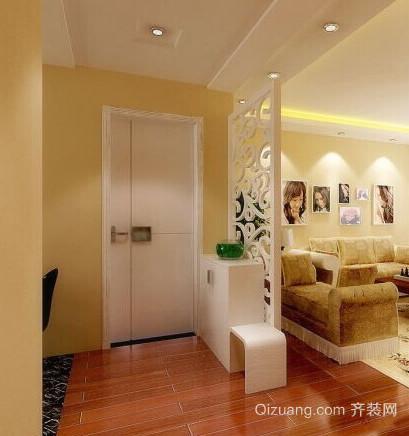 三室两厅客厅玄关装修效果图