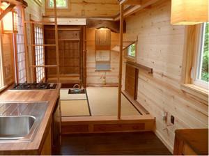 日式简约厨房装修效果图
