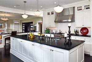 欧式厨房设计装修效果图