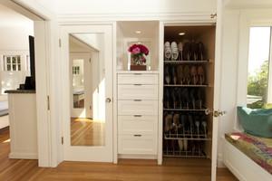 120平米大户型欧式客厅鞋柜背景墙装修效果图