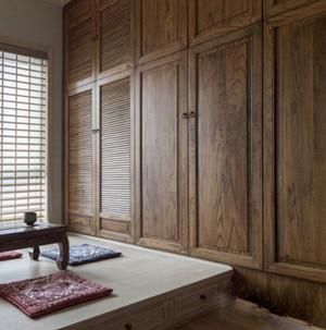 中式风格飘窗地台装修效果图