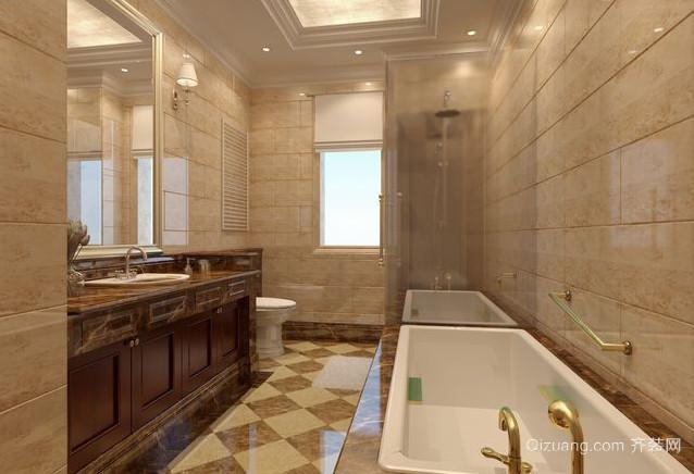 别墅洗手间装修效果图