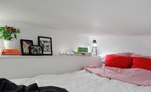欧式风格小卧室榻榻米床装修效果图
