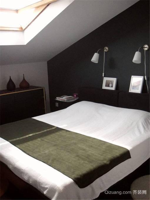 时尚个性的混搭风格室内设计卧室装修效果图