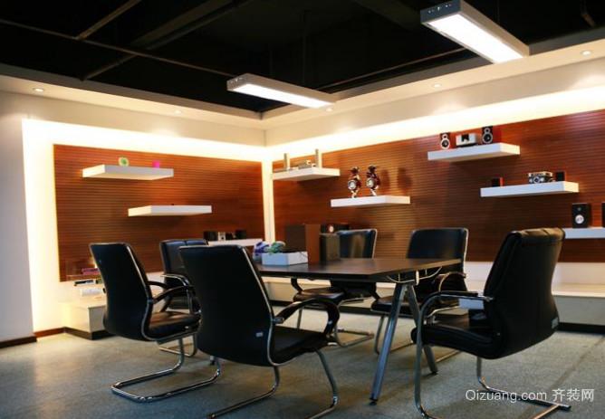 办公室大厅接待室装修效果图