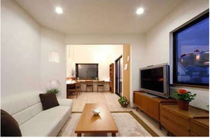 日式简约客厅装修效果图