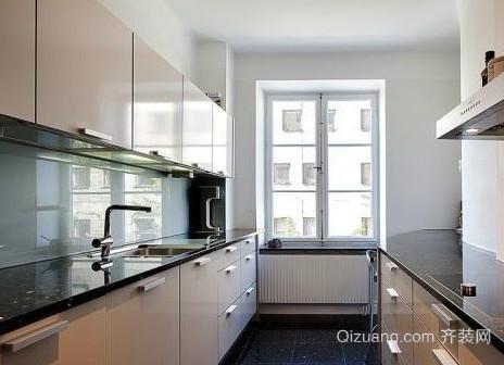 两室一厅北欧风格厨房装修效果图