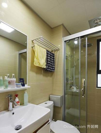 现代简约风格小浴室装修效果图