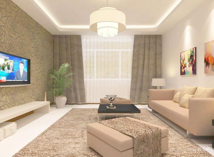 小户型客厅新房装修效果图
