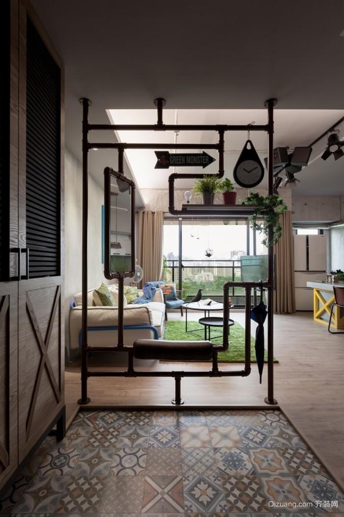 三室两厅两卫大户型公寓装修效果图