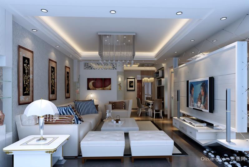 客厅家居装饰天花灯装修效果图
