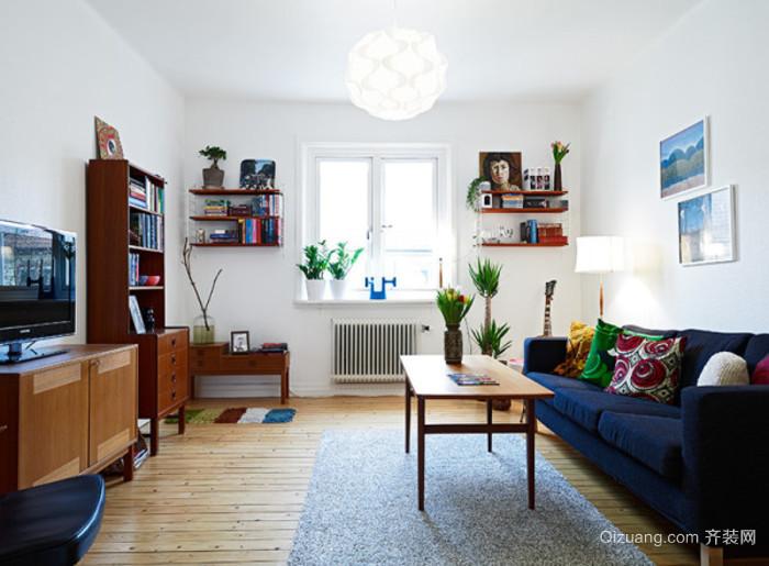 一居室小户型单身公寓装修效果图