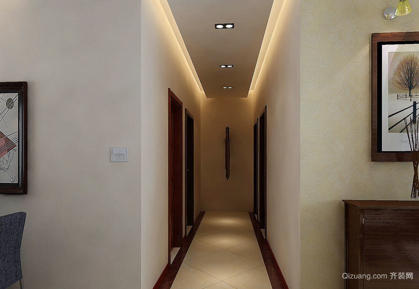 大户型欧式客厅走廊吊顶装修效果图