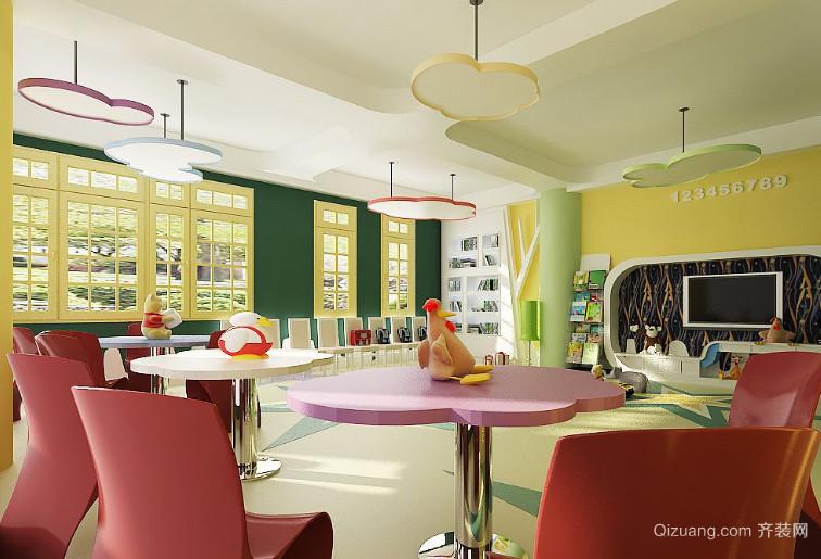 2015全新幼儿园教室布置设计图片大全