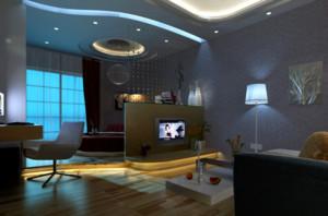 60平米欧式单身公寓装修效果图