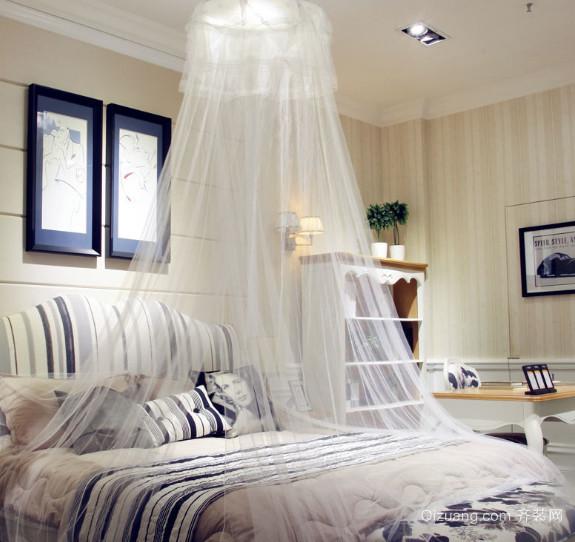 2015卧室装修家居装饰蚊帐图片大全