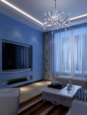 120平米地中海风格飘窗装修效果图