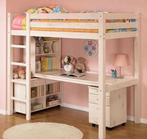 小户型卧室双层床装修效果图