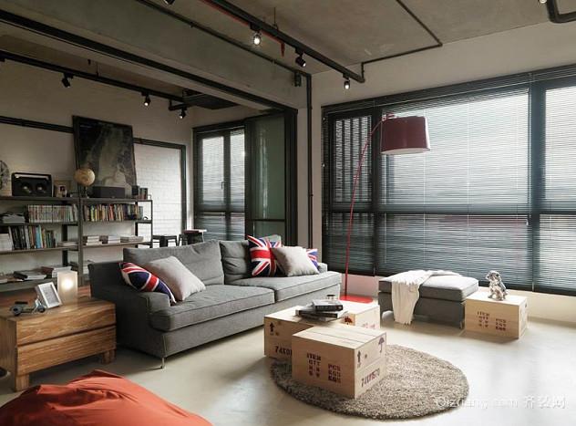 小复式楼loft装修效果图
