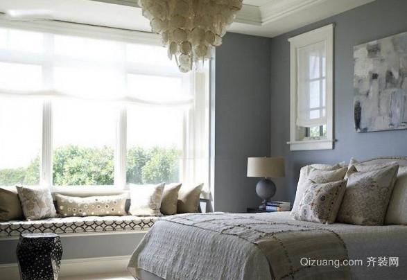 2015全新小卧室飘窗装修效果图