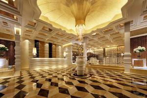 古典欧式风格酒店大堂装修图