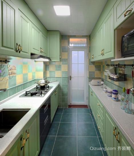 20平米地中海风格厨房装修效果图