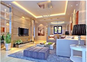 简约时尚新房客厅装修效果图