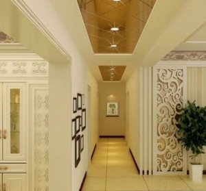 代欧式风格客厅墙面漆背景墙装修效果图