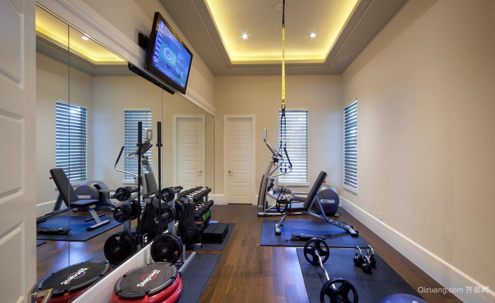别墅型居家健身房装修效果图