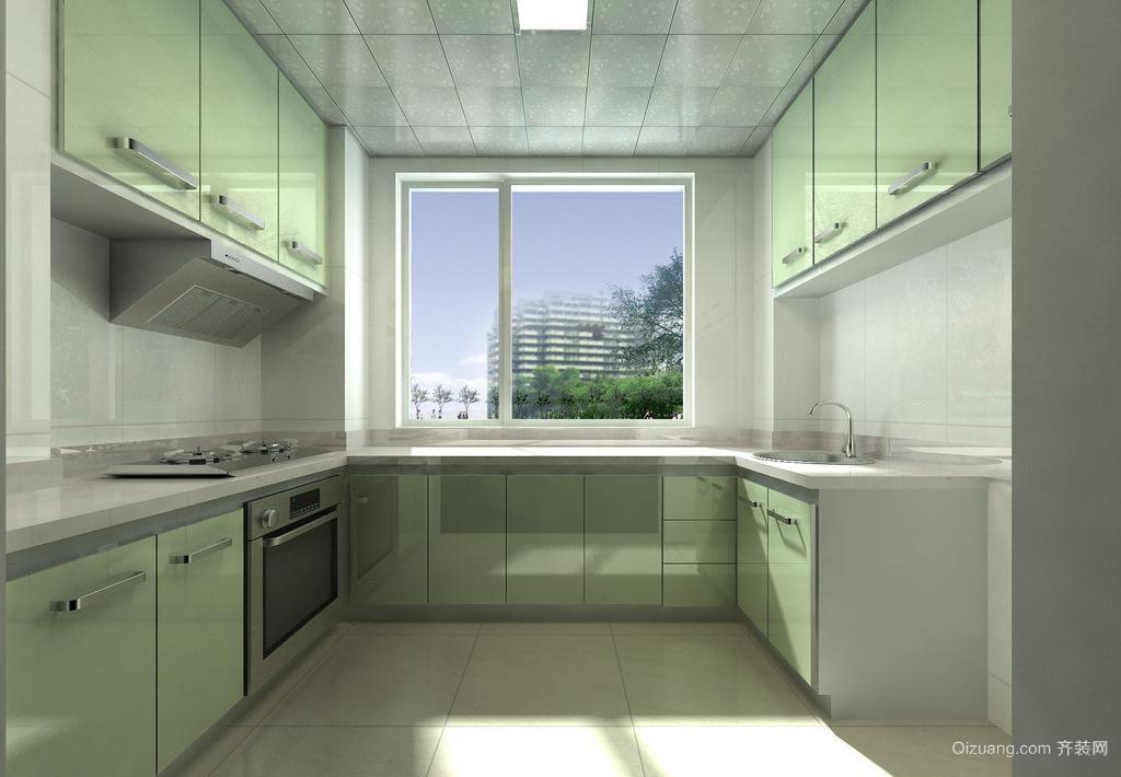 二室一厅欧式厨卫吊顶装修效果图