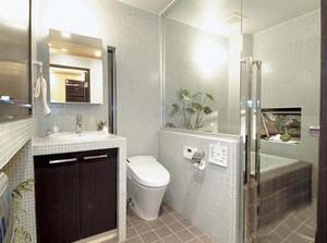 日式简约浴室装修效果图