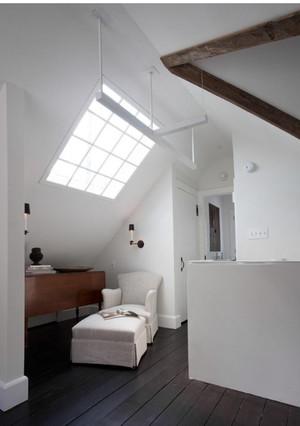阁楼天窗卧室装修效果图
