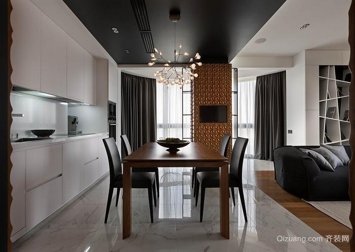 40平小清新公寓室内装修效果图