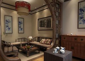 中式风格茶楼装修效果图