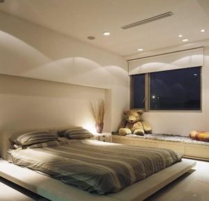 单身公寓现代日式卧室榻榻米装修效果图